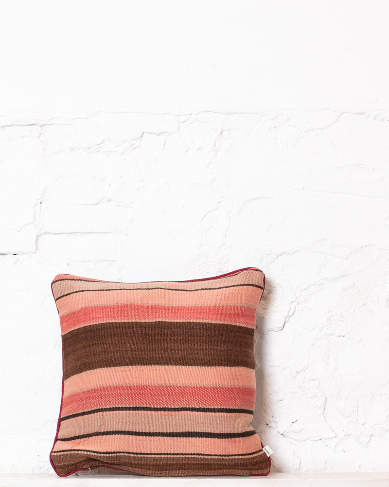 Authentic striped Berber pillow from Morocco 361