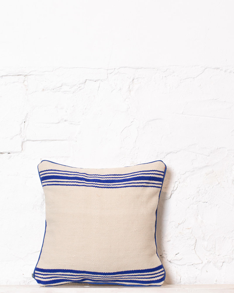 Authentic striped Berber pillow from Morocco 365