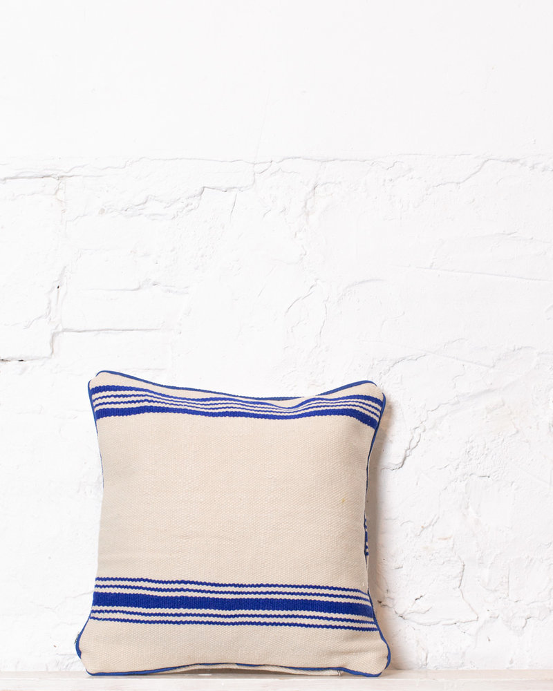 Authentic striped Berber pillow from Morocco 366