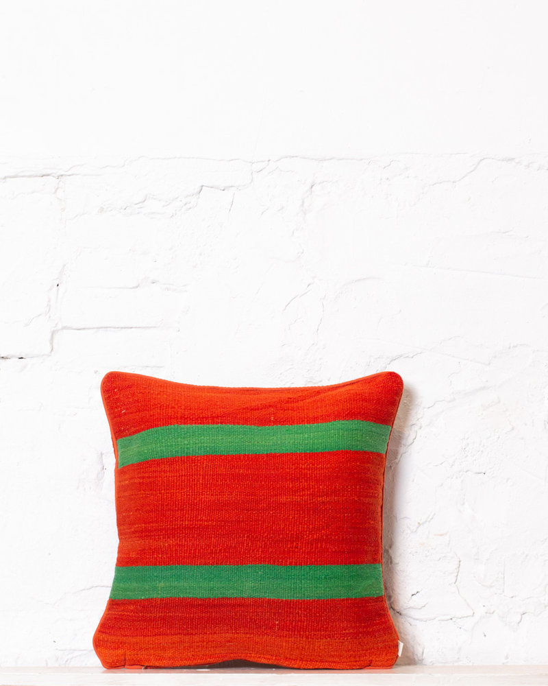 Authentic striped Berber pillow from Morocco 372