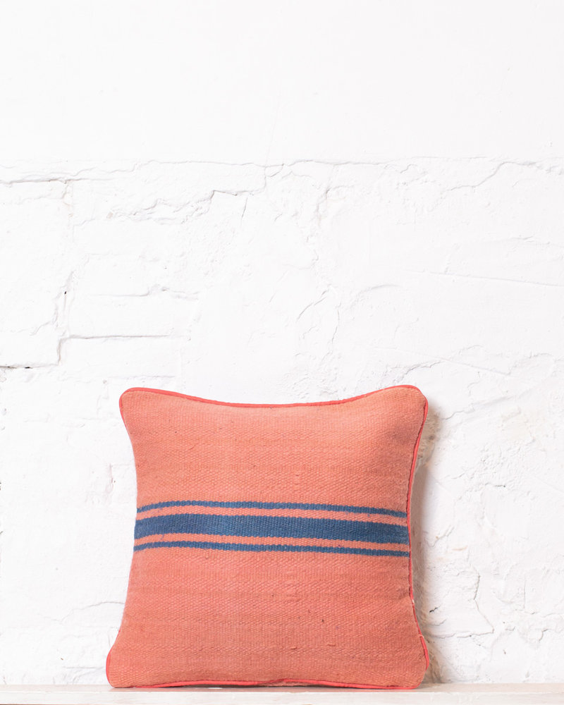Authentic striped Berber pillow from Morocco 380