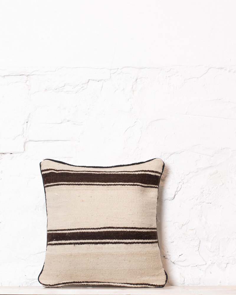 Authentic striped Berber pillow from Morocco 390