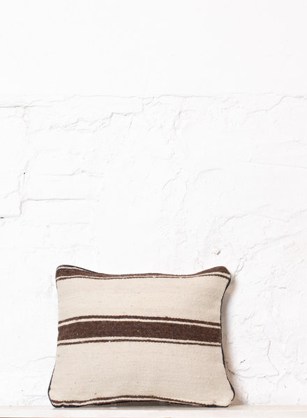 Berber stripe pillow 395