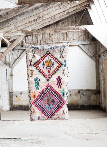 Boucherouite tapijt