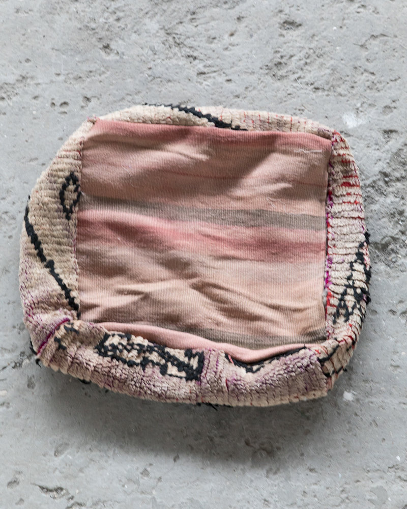 Handmade kelim pouf - 32