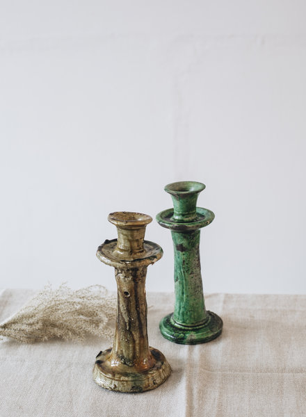 Tamegroute kandelaar - olijfgroen