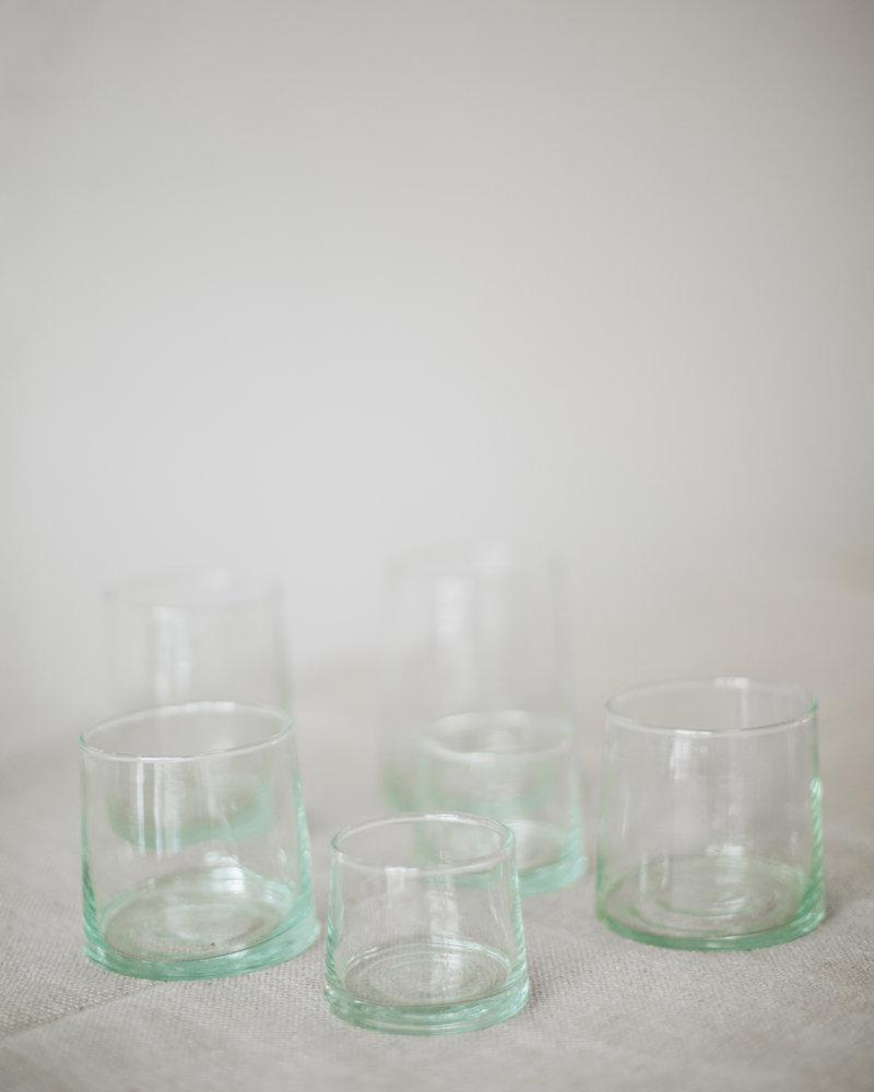 Marokaans gerecycled glas - clear
