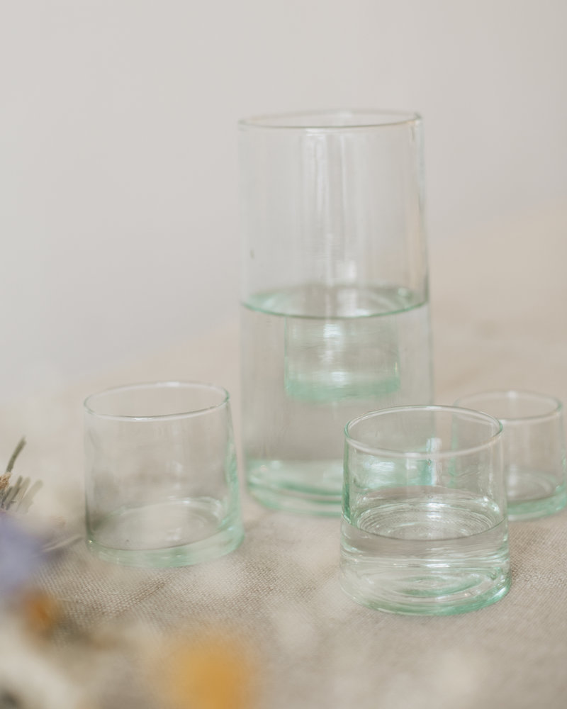 Recycled glass - clear