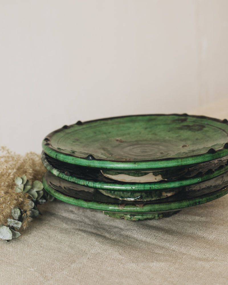 Tamegroute bord - groen