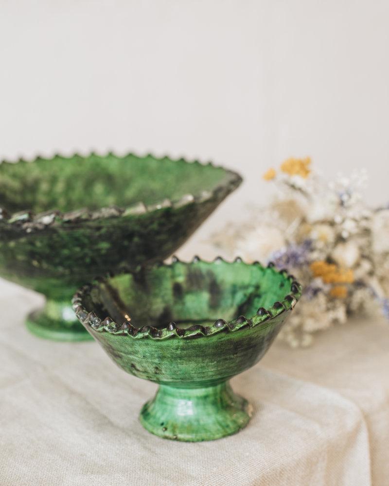 Tamegroute schaal - groen - M