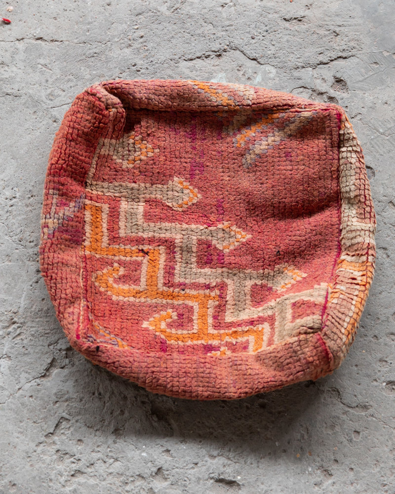 Handmade kelim pouf - 64