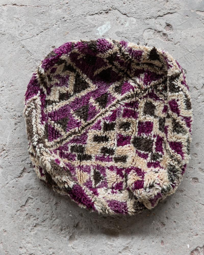 Handmade kelim pouf - 65