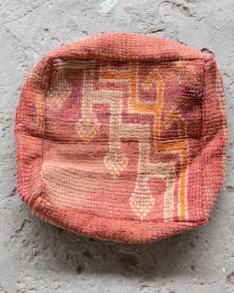 Handmade kelim pouf - 66