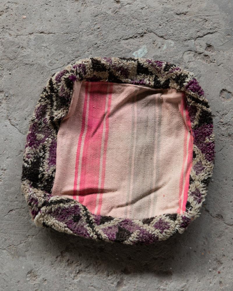 Handmade kelim pouf - 45