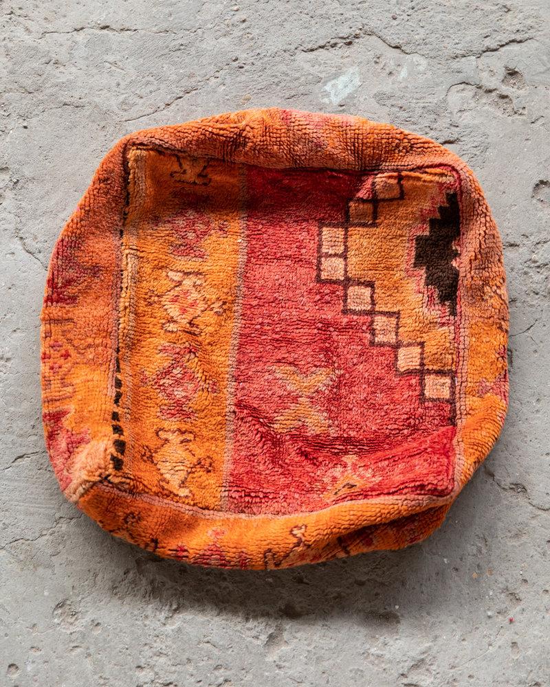 Handmade kelim pouf - 46