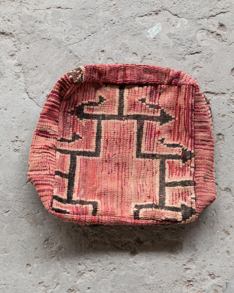 Handmade kelim pouf - 49
