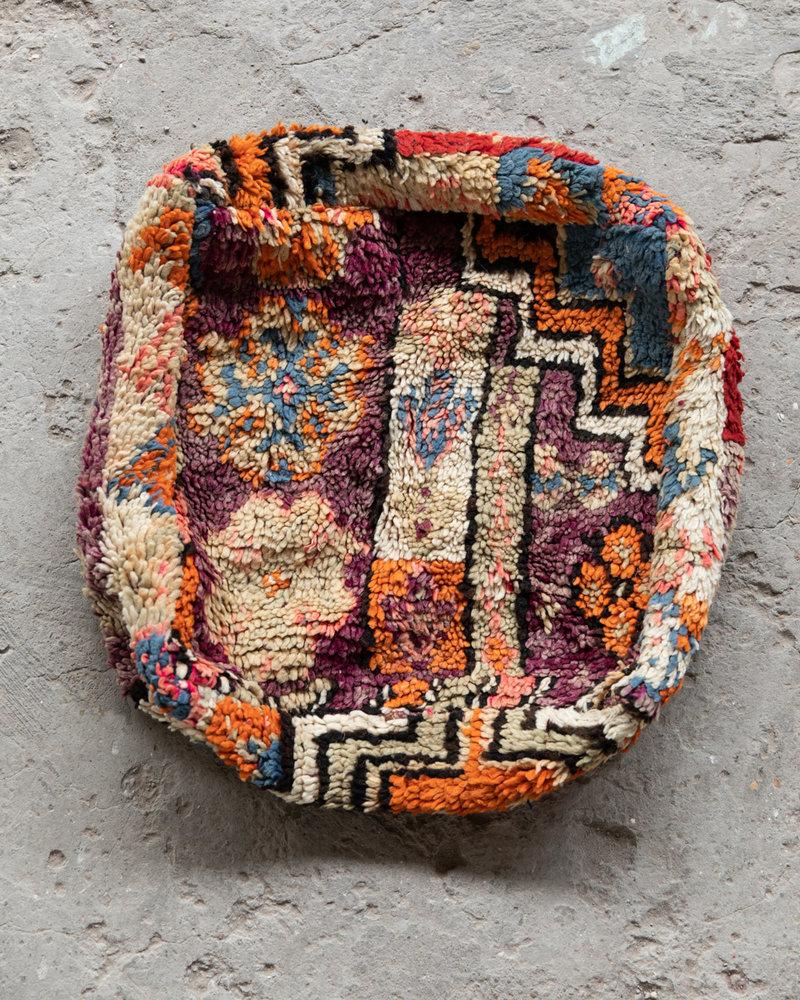 Handmade kelim pouf - 50