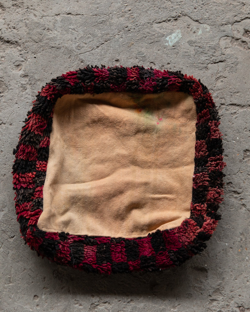 Handmade kelim pouf - 55