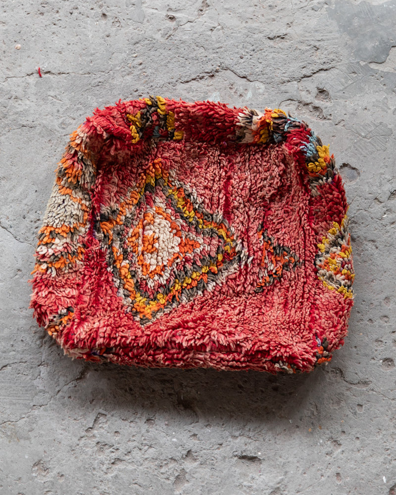 Handmade kelim pouf - 60