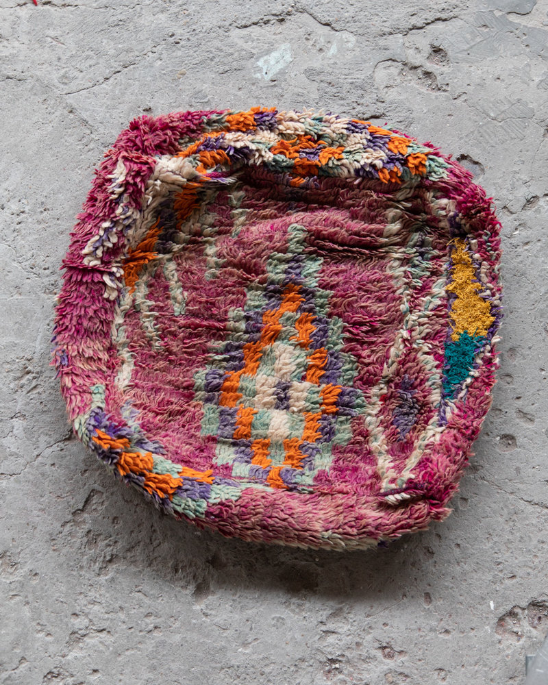 Handmade kelim pouf - 61