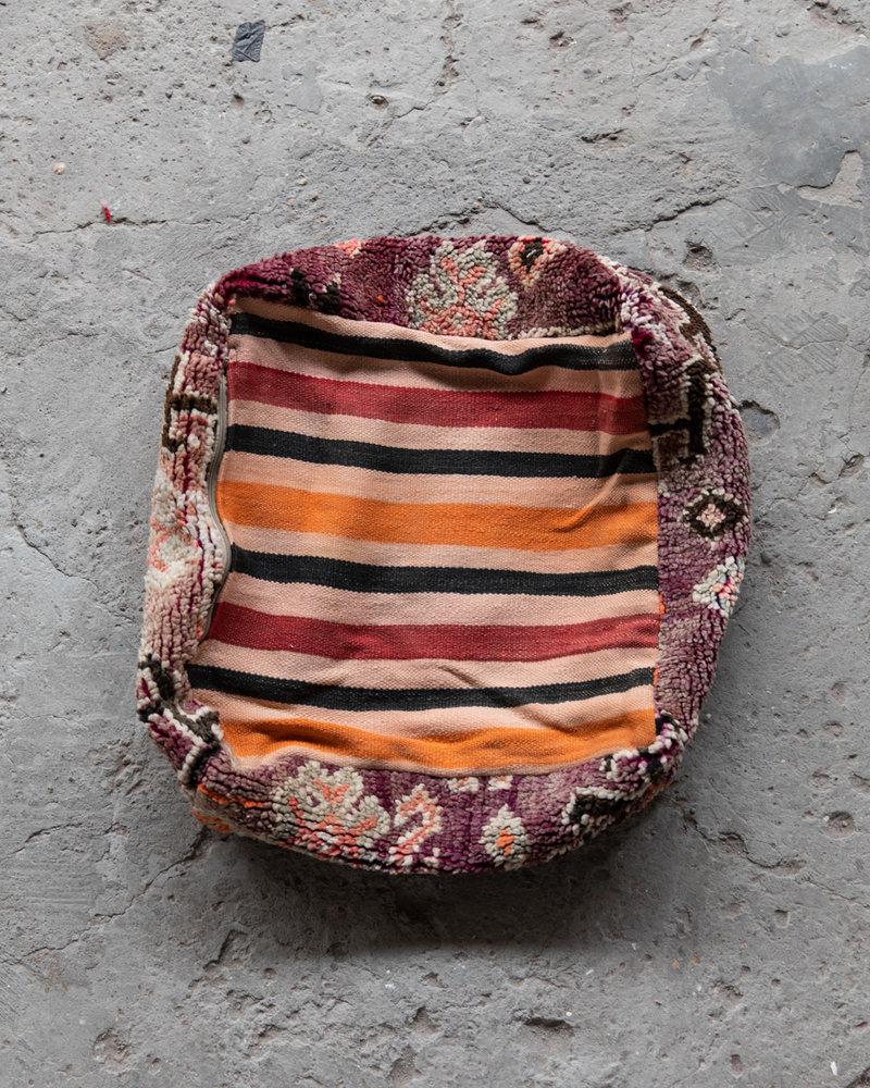Handmade kelim pouf - 62