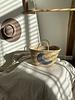 The Souks x Dappermaentje - Handwoven straw basket moon grey