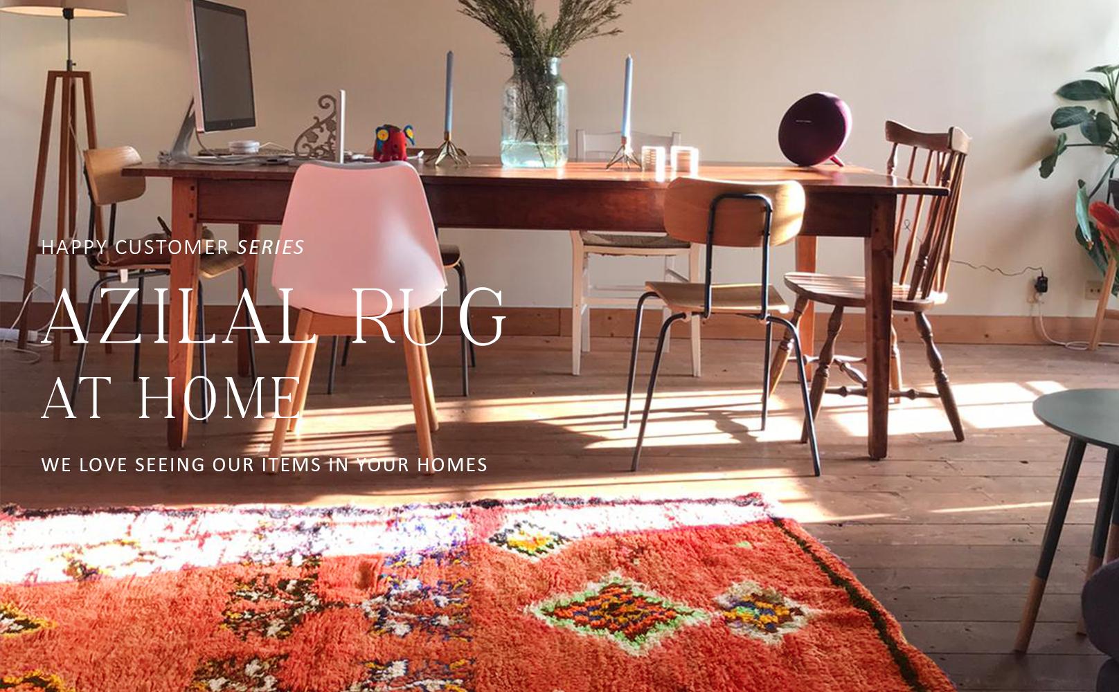 Hoe style je een azilal tapijt