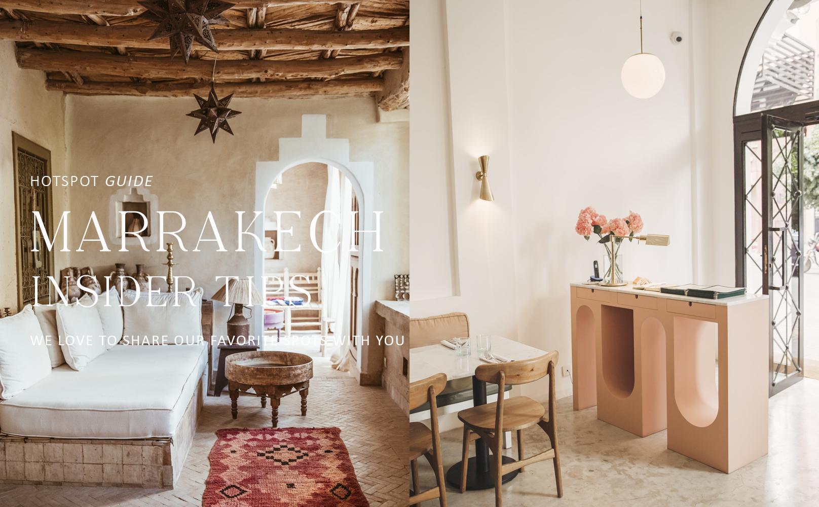 Marrakech tips voor hotspots