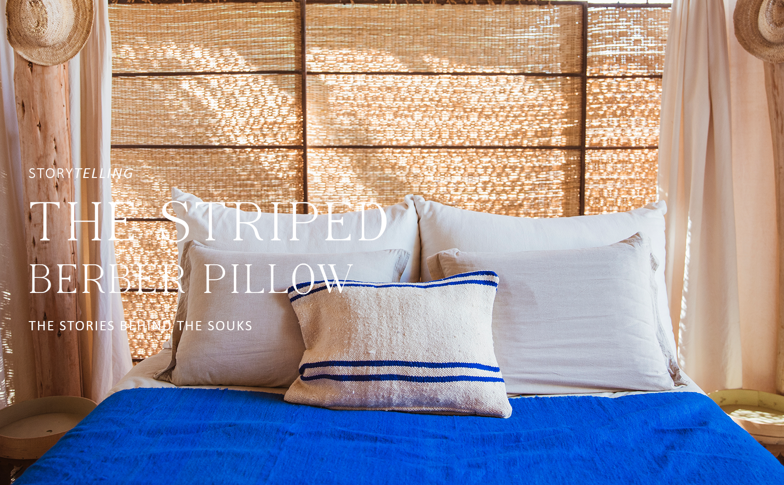 Story Behind the Striped Berber Pillow
