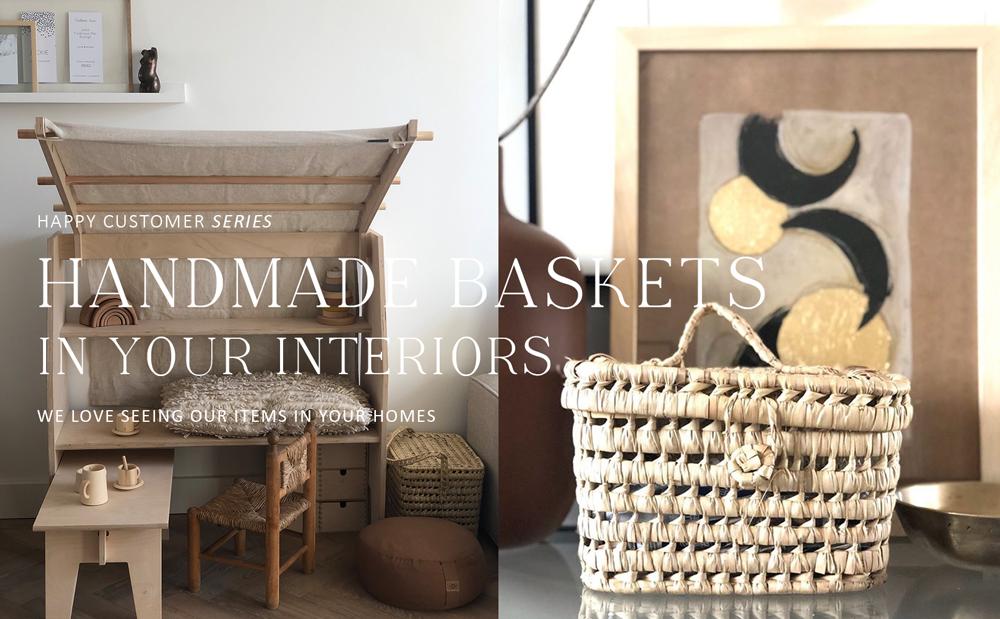Happy customer series - Onze mandjes in jullie interieurs