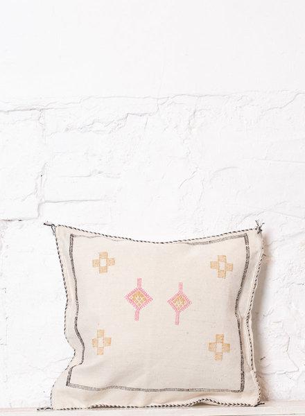 Vegan silk cactus pillow 214