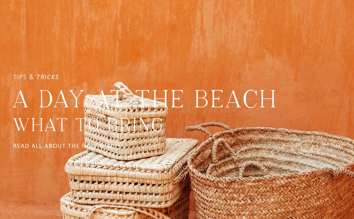 Stranddag, wat neem je mee?