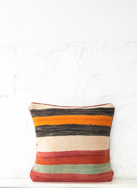 Berber stripe pillow 406