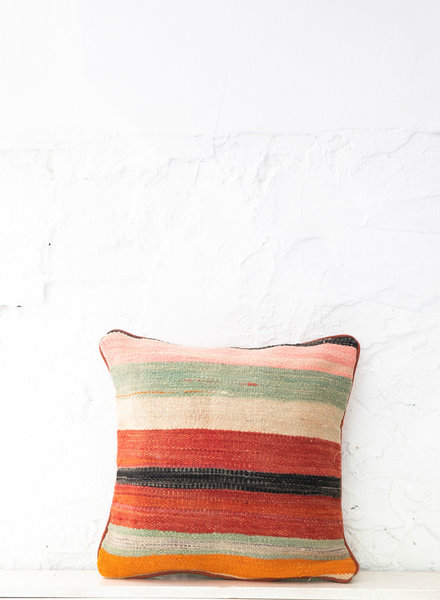 Berber stripe pillow 412