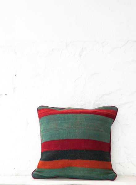 Berber stripe pillow 413