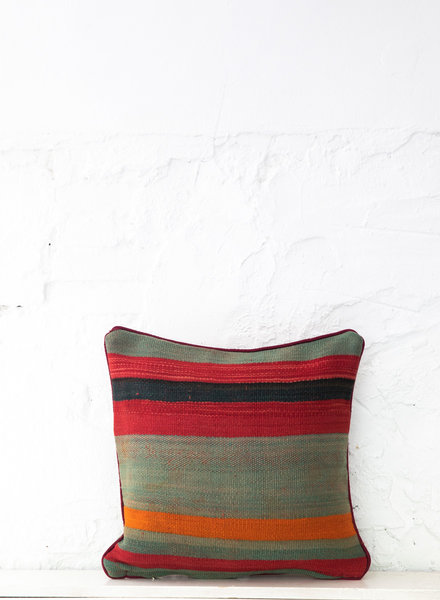 Berber stripe pillow 417