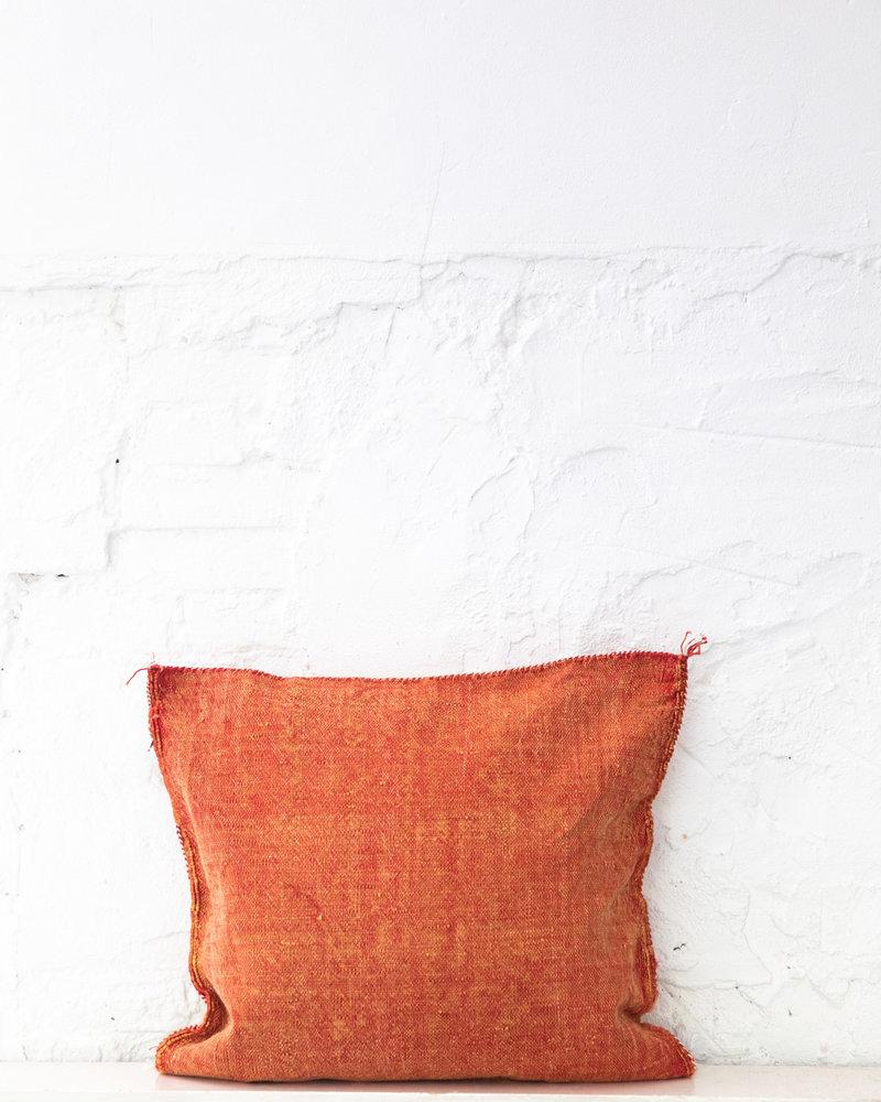 Vegan silk cactus pillow 250