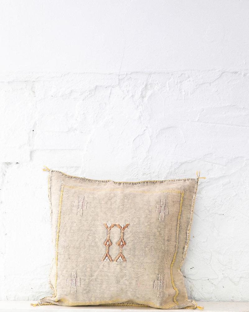 Vegan silk cactus pillow 254