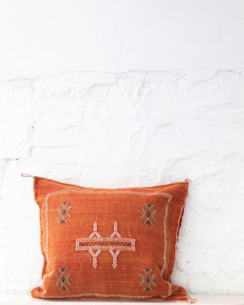 Vegan silk cactus pillow 255
