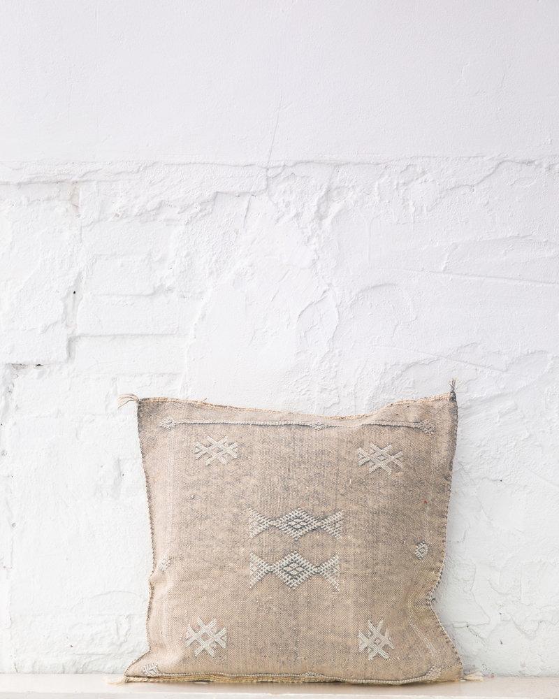 Vegan silk cactus pillow 265