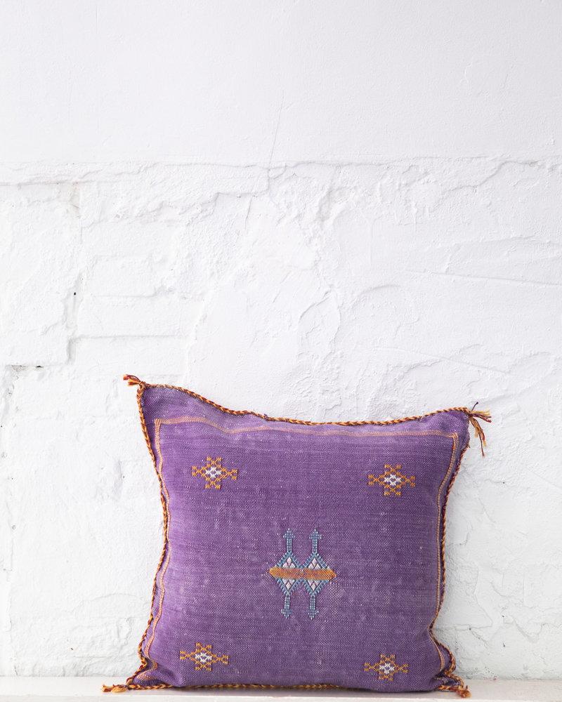 Vegan silk cactus pillow 266