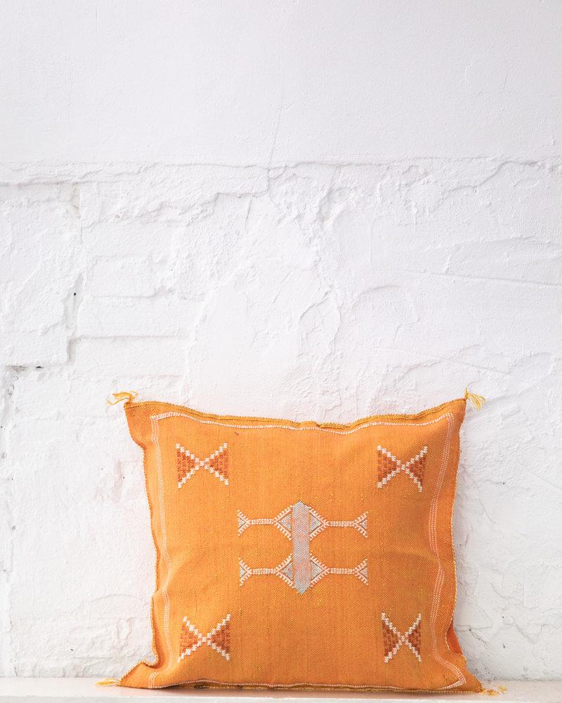 Vegan silk cactus pillow 268