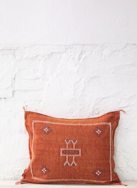 Vegan silk cactus pillow 271