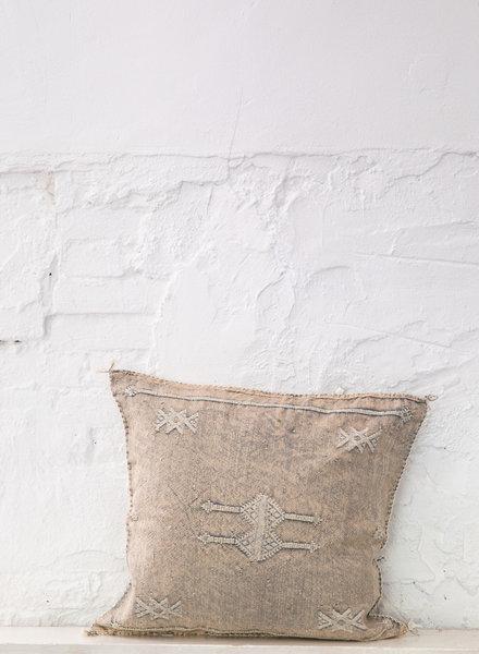 Vegan silk cactus pillow 278
