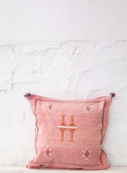 Vegan silk cactus pillow 279