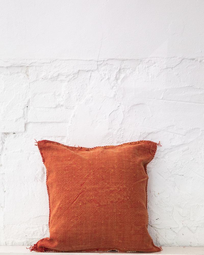 Vegan silk cactus pillow 281