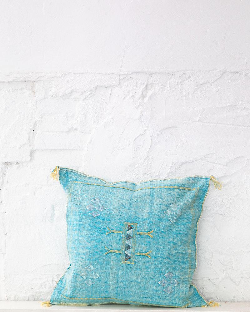Vegan silk cactus pillow 283