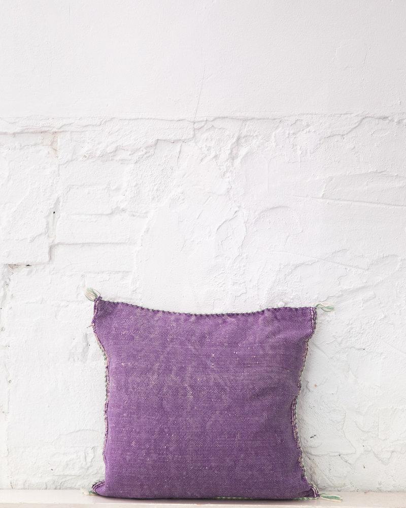 Vegan silk cactus pillow 286
