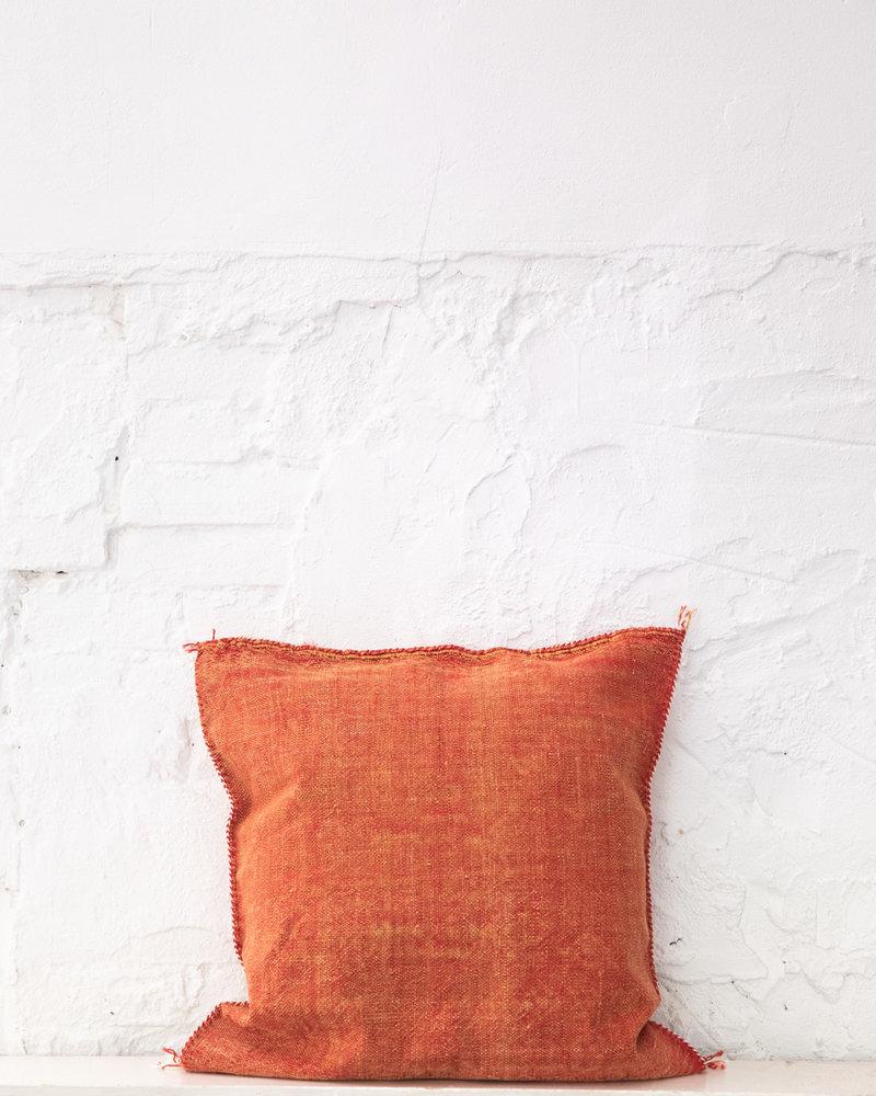 Vegan silk cactus pillow 287
