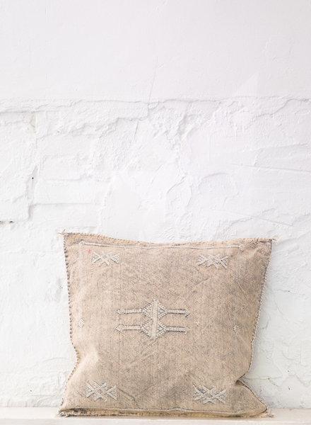 Vegan silk cactus pillow 291